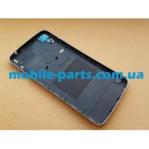 Задняя крышка в сборе с боковыми кнопками, стеклом камеры и антеннами для Alcatel One Touch Idol 3 6045Y Dark Grey оригинал