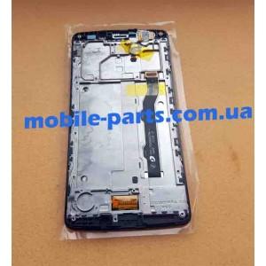 """Оригинальный дисплей IPS 5,5"""" в сборе с сенсором для TP-LINK Neffos C5 Max (TP702A) Black"""