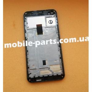 Дисплей в сборе с передней панелью для Nomi i5530 Space X Black оригинал