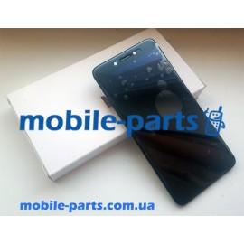Дисплей в сборе с передней панелью для Prestigio MultiPhone Grace Z5 5530 Duo Black оригинал