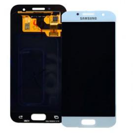 Дисплей Super AMOLED в сборе с сенсорным стеклом (тачскрином) для Samsung Galaxy A3 2017 A320 Blue оригинал