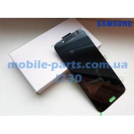 Дисплей Super AMOLED в сборе с сенсорным стеклом (тачскрином) для Samsung Galaxy J7 2017 SM-J730 Black оригинал