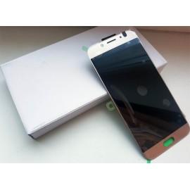 Дисплей Super AMOLED в сборе с сенсорным стеклом (тачскрином) для Samsung Galaxy J7 2017 SM-J730 Gold оригинал