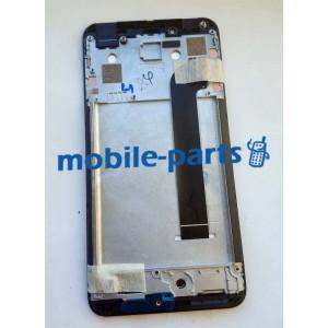 Дисплей в сборе с передней панелью и сенсором для Prestigio MultiPhone 3533 Grace Z3 Black оригинал