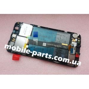 Оригинальный дисплей в сборе с передней панелью, сенсором,боковыми клавишами и акб для Huawei Nova (CAN-L11) Gray