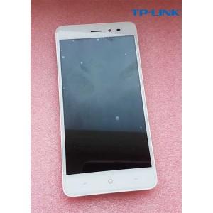 """Оригинальный дисплей IPS 5"""" в сборе с передней панелью и сенсором для TP-Link Neffos X1 Lite TP904A White"""