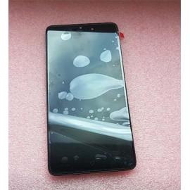 Дисплей в сборе с передней панелью и сенсором (тачскрином) для TP-Link Neffos X1 Max Gray (TP903A) оригинал