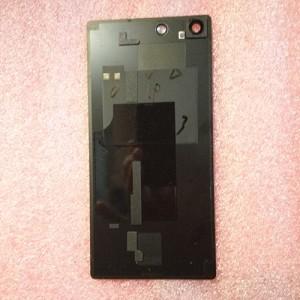 Задняя стеклянная крышка для Sony Xperia M5 E5653 Black оригинал