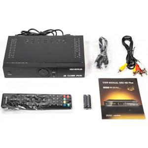 Спутниковый ТВ ресивер DVB-S2 55X HD Plus Black