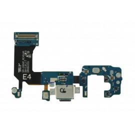Разьем USB Type-C на шлейфе в сборе с микрофоном для Samsung Galaxy S8 SM-G950 оригинал