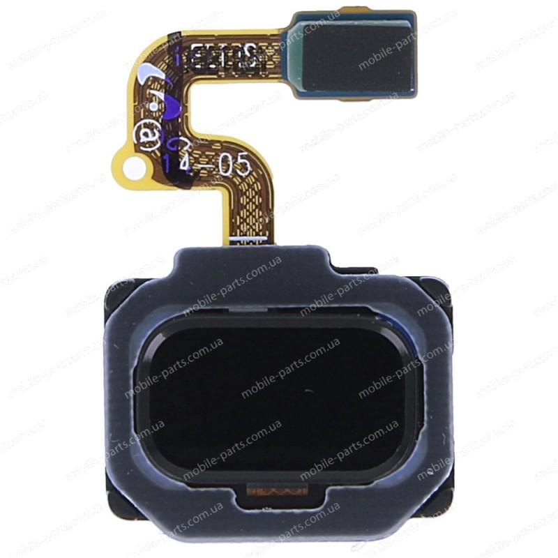 Сканер отпечатков пальцев на шлейфе для Samsung SM-N950 Galaxy Note 8 Black оригинал