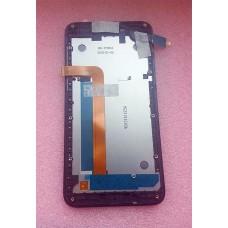 Дисплейный модуль ( lcd экран + сенсор+пластиковая рамка) для TP-Link Neffos Y5s (TP804A) Grey оригинал