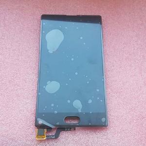 Дисплей черный в сборе с сенсором для Doogee MIX Lite Black оригинальный
