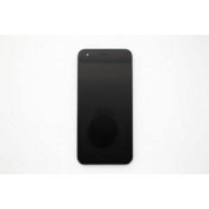 """Дисплей 5.5"""" IPS в сборе с передней панелью, сенсором и шасси для Asus Zenfone 4 ZE554KL Black оригинал"""