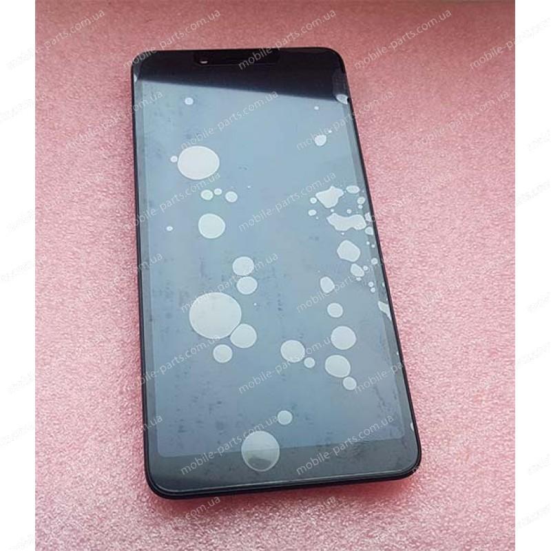 Оригинальный дисплей в сборе с сенсором и рамкой для Xiaomi Redmi 6, Redmi 6A Black