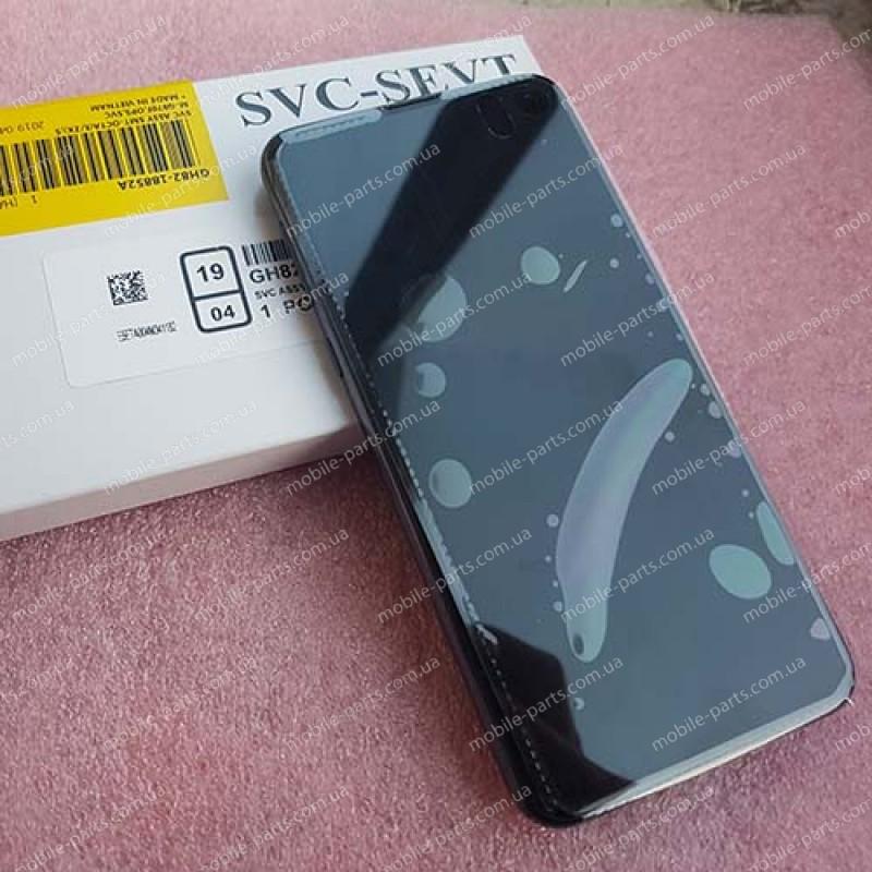 """Оригинальный дисплей Dynamic AMOLED 5,8"""" в сборе с сенсором и металлической рамкой для Samsung SM-G970 Galaxy S10e Prism Black"""