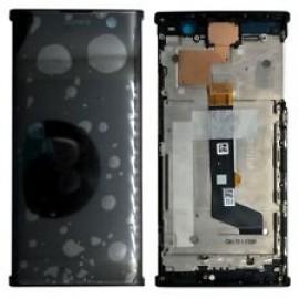 "Дисплей 6.0"" IPS в сборе с металлическим шасси и сенсором для SonyH4413 Xperia XA2 Plus Dual Sim Black оригинал"