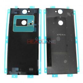 Задняя крышка в сборе со скотчем для Sony H4413 Xperia XA2 Plus Dual Sim Black оригинал