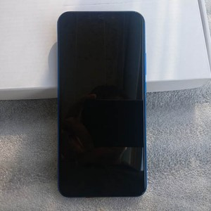 """Дисплей IPS 6,3"""" в сборе с сенсором, металлической рамкой и аккумулятором для Huawei P Smart Plus (INE-LX1) Purple оригинал"""