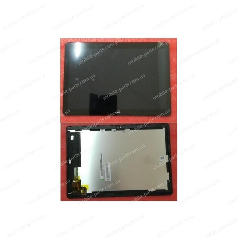 "Дисплей 9,6"" IPS в сборе в сенсором и рамкой для Huawei MediaPad T3 10 LTE (AGS-L09) Black оригинал"