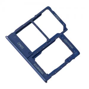 Лоток SIM карты и карты памяти для Samsung Galaxy A40 2019 SM-A405 Blue оригинал