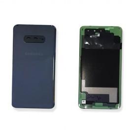 Задняя стеклянная крышка Gorilla Glass для Samsung SM-G970 Galaxy S10e Prism Black оригинал
