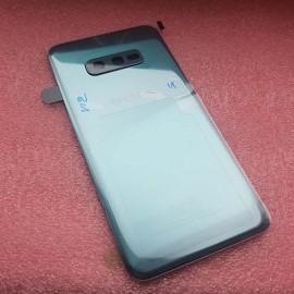Задняя стеклянная крышка Gorilla Glass для Samsung SM-G970 Galaxy S10e Prism Green оригинал