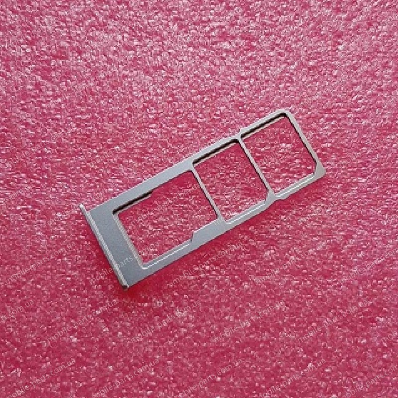 Выдвижной лоток для SIM-карт и карты памяти для TP-Link Neffos C9 (TP707A) Cloudy Grey оригинал