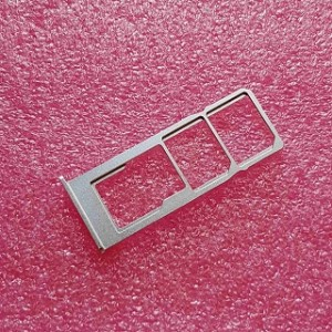 Выдвижной лоток для SIM-карт и карты памяти для TP-Link Neffos C9 (TP707A) Moonlight Silver оригинал