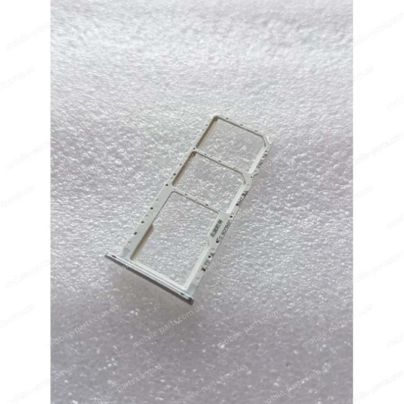 Выдвижной лоток для SIM-карт и карты памяти для TP-Link Neffos C9a (TP706A) Moonlight Silver оригинал