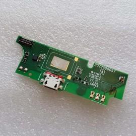 Нижняя (дополнительная) плата с micro USB разъёмом и микрофоном для TP-Link Neffos Y5s (TP804A) оригинал