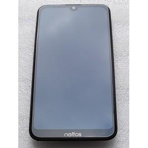 """Дисплейный модуль в сборе (LCD экран 5,71"""" HD IPS + передняя сенсорная панель с рамкой) для TP-Link Neffos C9s (TP7061A) оригинал"""