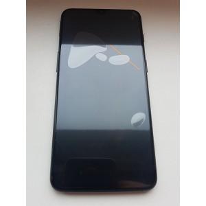 """Дисплей 6,41"""" Optic AMOLED в сборе с сенсором, рамкой и боковыми кнопками для OnePlus 6T Mirror black (A6013) оригинал"""