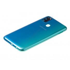 Задняя крышка со стеклом камеры и боковыми кнопками для Samsung SM-M307 Galaxy M30s Blue оригинал