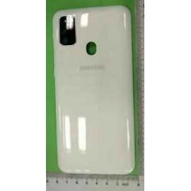 Задняя крышка со стеклом камеры и боковыми кнопками для Samsung SM-M307 Galaxy M30s White оригинал
