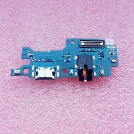 Нижняя плата с разъемом USB type C, микрофонов и гнездов наушников для Samsung SM-M307 Galaxy M30s оригинал