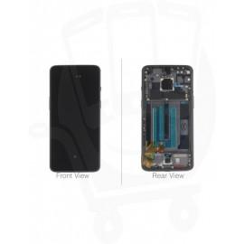 """Дисплей  6.41"""" Optic AMOLED в сборе с рамкой для OnePlus 7 Mirror Grey оригинал"""