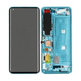 Оригинальный дисплей AMOLED в сборе с металлической рамкой для Xiaomi Mi 10 Coral Green