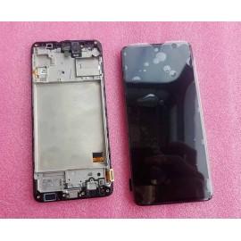 Дисплей Super AMOLED в сборе с сенсором и рамкой для Samsung SM-M317 Galaxy M31s оригинал