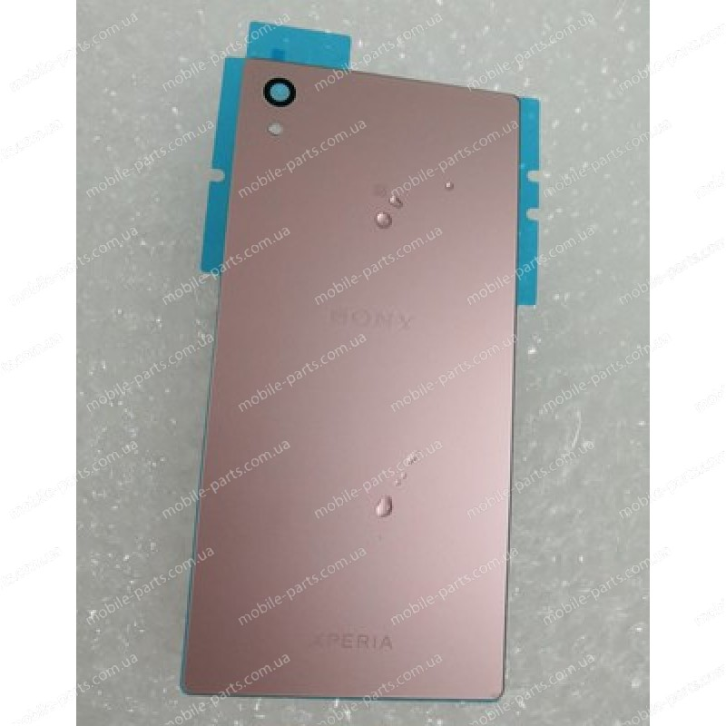 Задняя стеклянная крышка для Sony Xperia Z5 Dual E6683 Pink оригинал