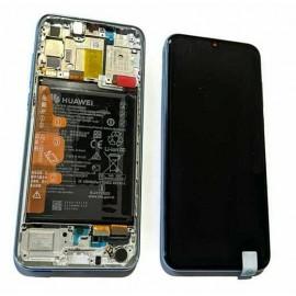 Оригинальный OLED дисплей в сборе с сенсором, рамкой и акб для Huawei P Smart S (AQM-LX1) Breathing Crystal