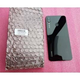 Задняя крышка с линзой и сканером отпечатка для Huawei P Smart Plus (INE-LX1) Black оригинал