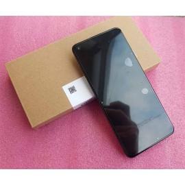 Оригинальный дисплей Super AMOLED в рамке для смартфона Realme 7 Pro RMX2170 Black  (сервисный)
