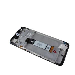 Оригинальный IPS дисплей в сборе с сенсором, рамкой и боковыми кнопками для Xiaomi Poco M3 Pro M2103K19PG (сервисный !)