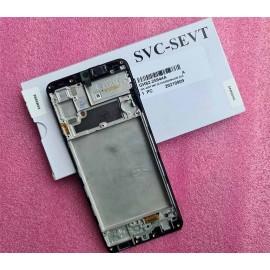 "Дисплей Super AMOLED 6.4"" в сборе с сенсором и рамкой для Samsung SM-A225 Galaxy A22 оригинал (сервис)"