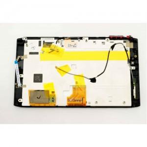 Дисплей в сборе с передней панелью и сенсором для Acer Iconia Tab A100 Black оригинал