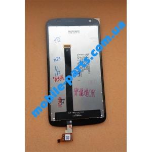 Дисплейный модуль (сборка дисплея и тачскрина) для HTC Desire 326G Dual Sim Black оригинал