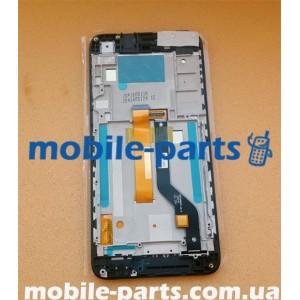 Дисплей в сборе с пердней панелью и сенсором(тачскрином) для HTC Desire 628 Dual Sim Blue оригинал