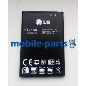 Оригинальный аккумулятор BL-44JN для LG X135, X145, E612, E612, E615, P970