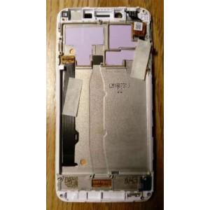 Дисплей в сборе с передней панелью и сенсором для Lenovo K5 Plus Gold оригинал
